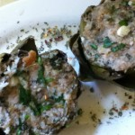 Aunt Dianne's Lemony, Herb and Anchovy Stuffed Artichokes